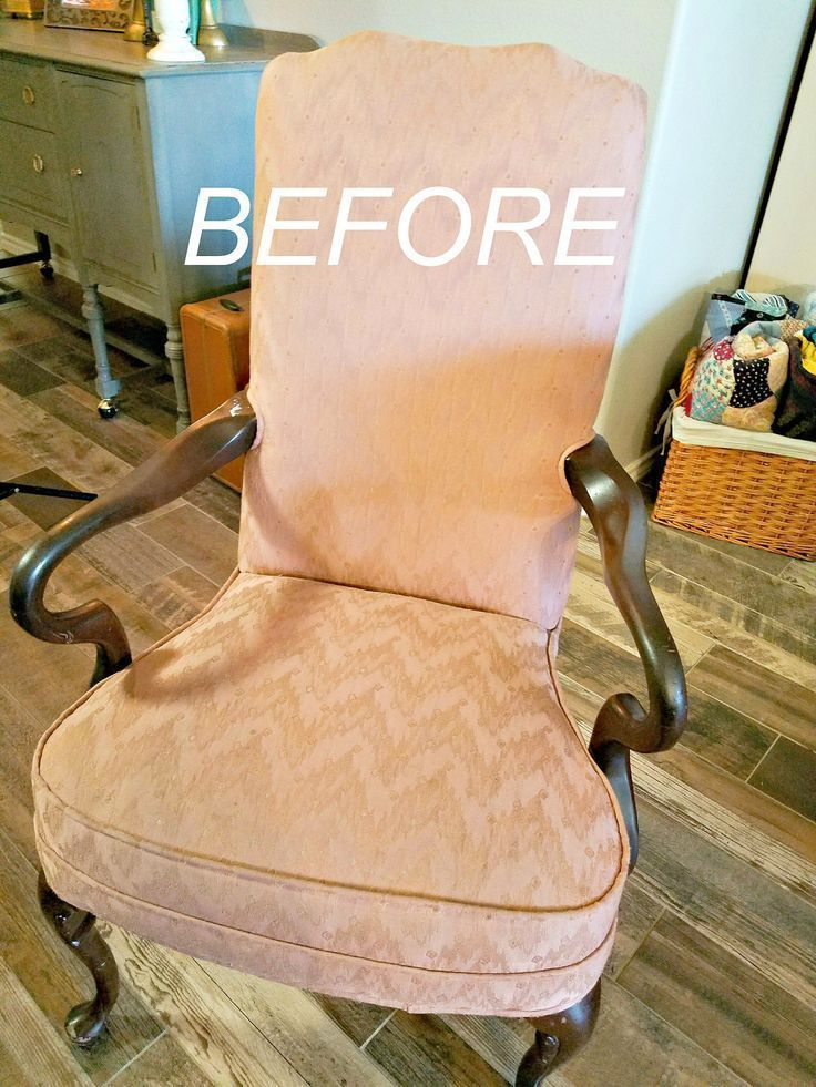 How To Paint Fabric On A Chair The Easy Way  Do Dodson Designs is part of Painting upholstered furniture - Did you know you can paint fabric on old furniture  I never throw away a good chair if it can be painted  It's actually pretty durable too