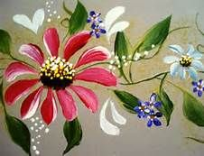 contemporary updated one stroke painting designs - Bing Images