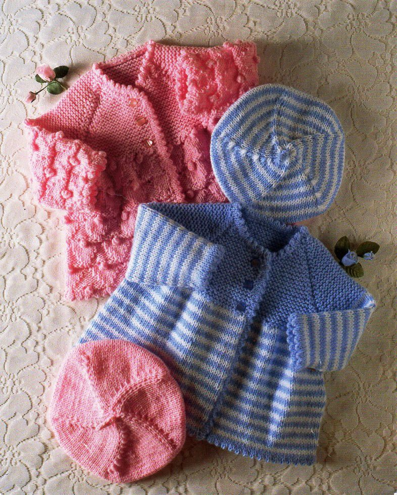 Baby coats knitting pattern pdf premature baby cardigans beret baby coats knitting pattern pdf premature baby cardigans beret matinee coat jacket 14 20 dt1010fo