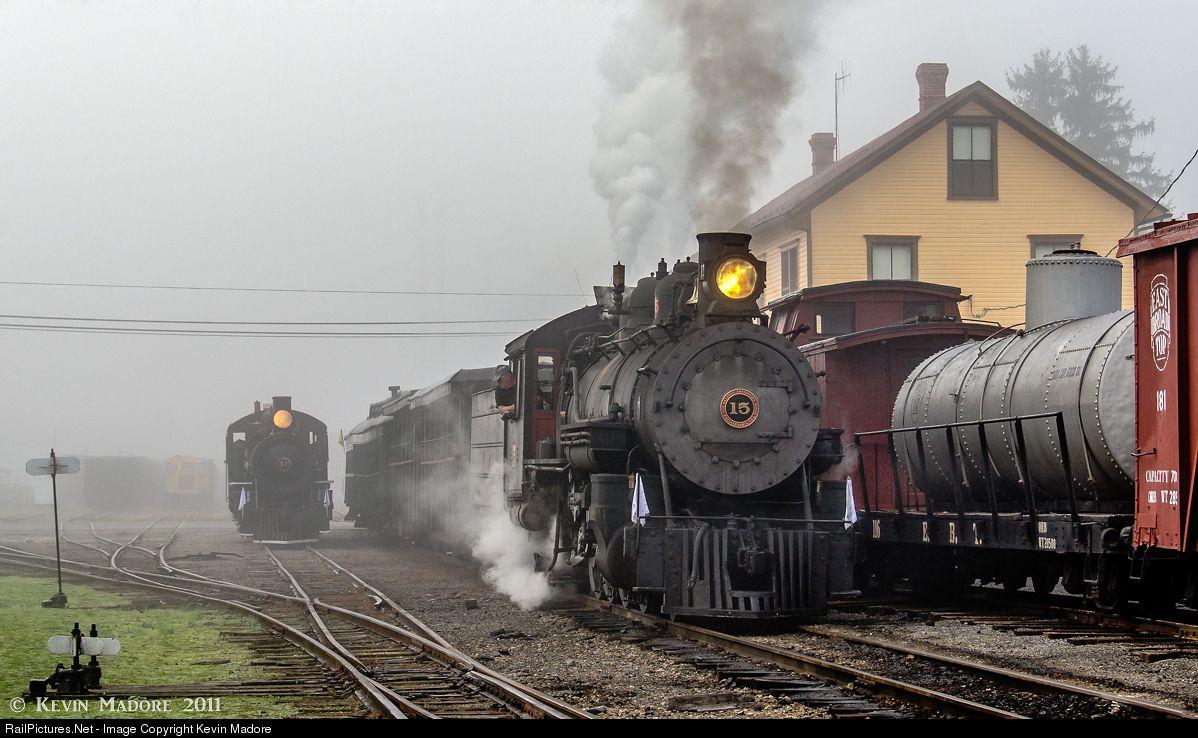 EBT 15 East Broad Top Steam 2-8-2 at Orbisonia, Pennsylvania