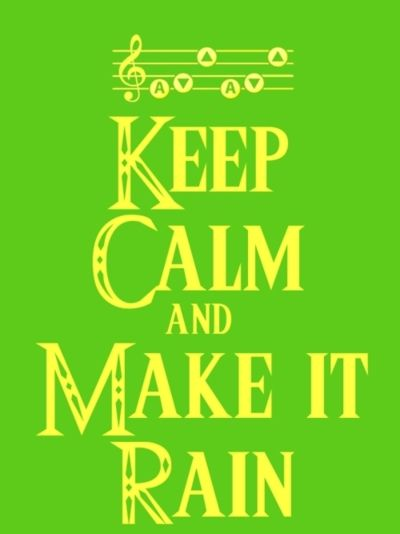 Keep calm and make it rain! Love legend of Zelda