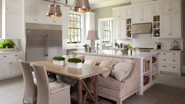 15 Traditional Style Eat In Kitchen Designs Home Design Lover