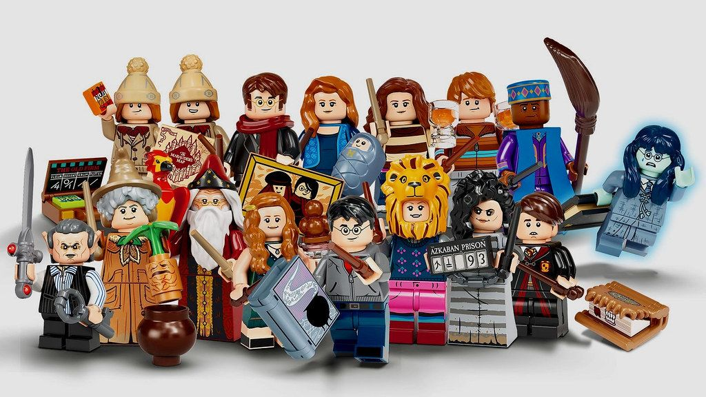Lego Collectable Minifigures Series Harry Potter Series 2 71028 Https Www Flickr Com P Lego Harry Potter Harry Potter Dolls Lego Harry Potter Minifigures