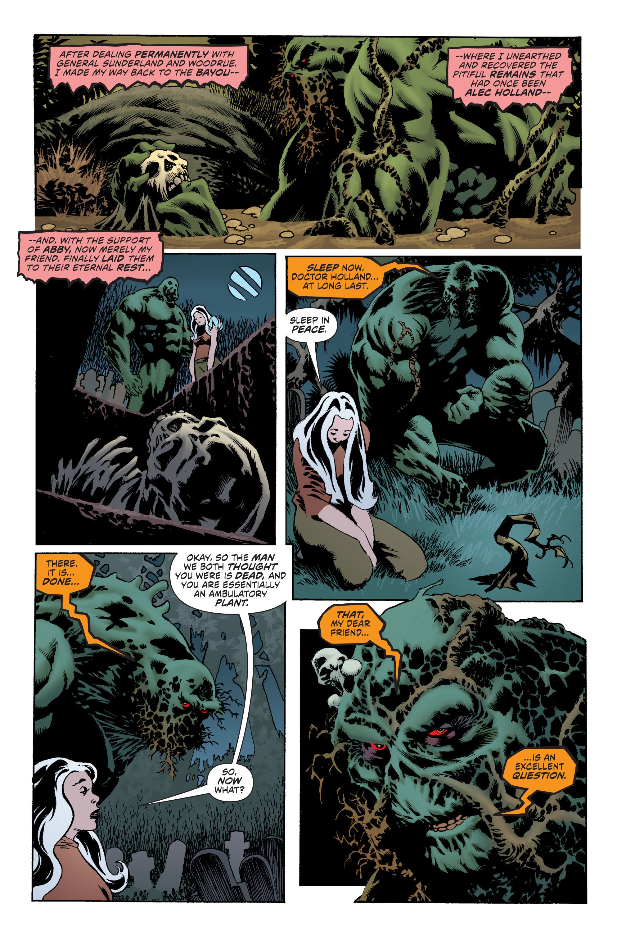 Convergence Swamp Thing Part 1 Album on Imgur (With