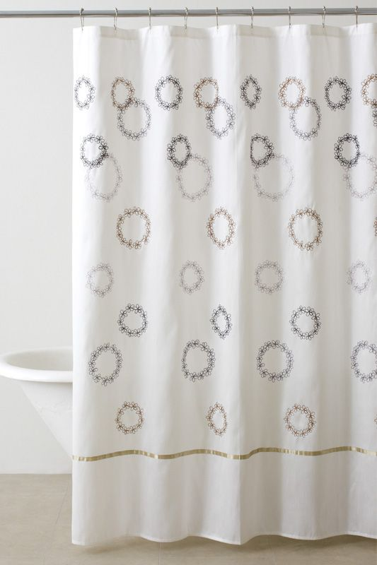 DKNY Filigree Shower Curtain image   For the Home   Pinterest ...