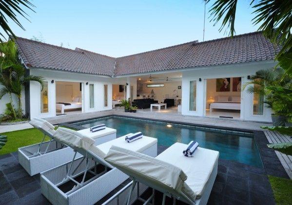 Villa Arta Modern Bungalow House Design Small Villa Bali House