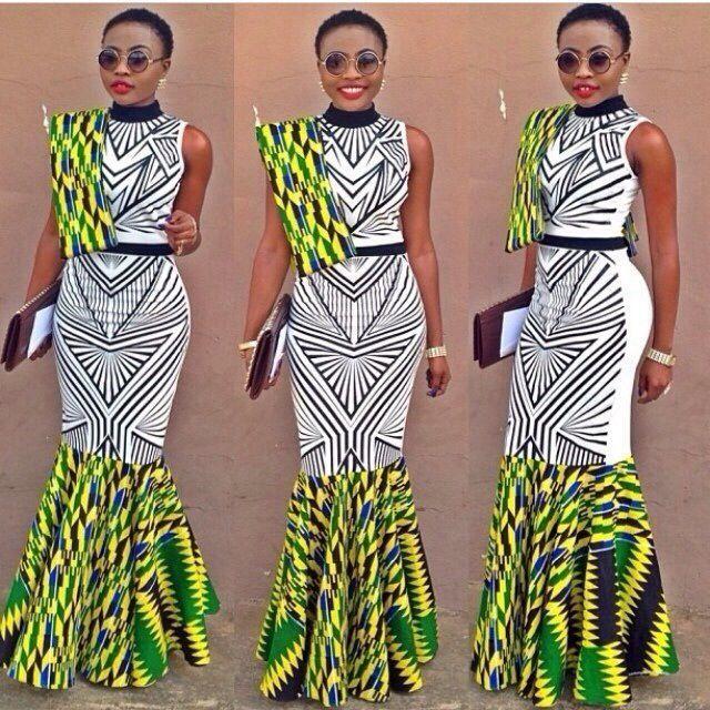 d0b10dda290 Creative African Clothing - Ankara Print - Debonke House Of Fashion ...