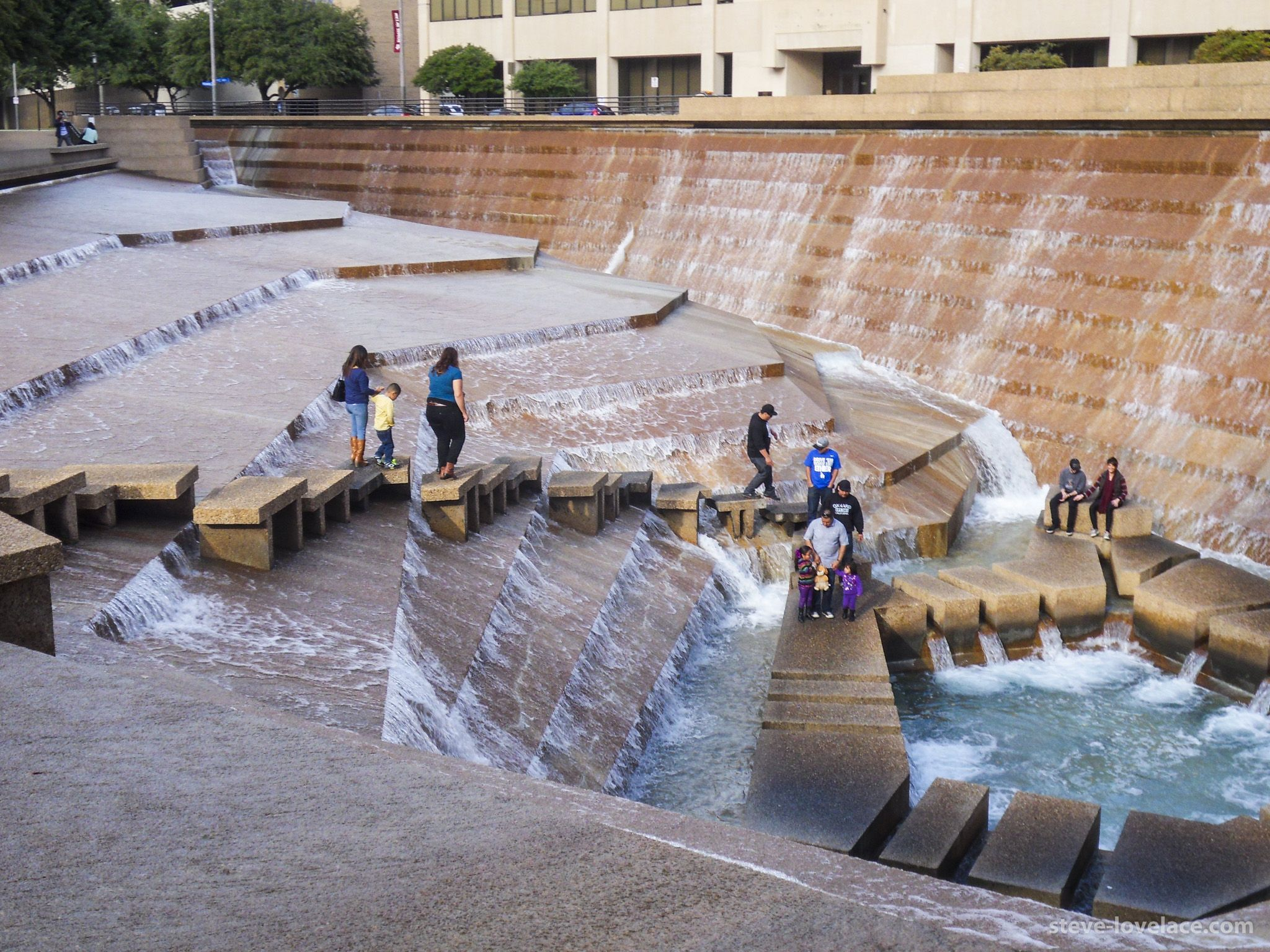 Philip Johnson Fort Worth Water Gardens, Fort Worth, Texas