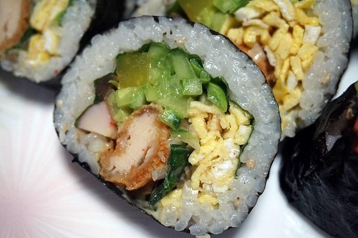 치킨텐더 김밥 만들기