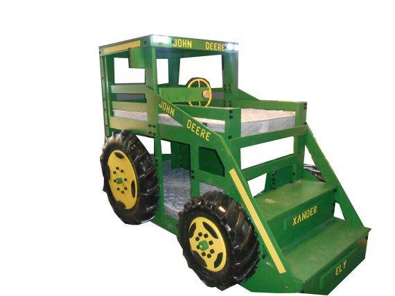 tracteur lit superpos s john deere pinterest lit superpos superpose et tracteurs. Black Bedroom Furniture Sets. Home Design Ideas