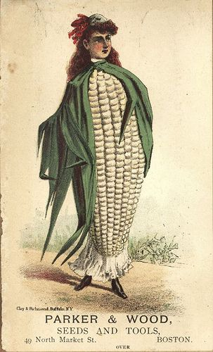 Trade card John B Varice Fine Seeds.