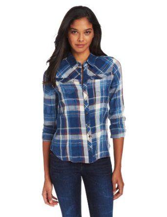 G-Star Women's Tailor Check Slim Shirt