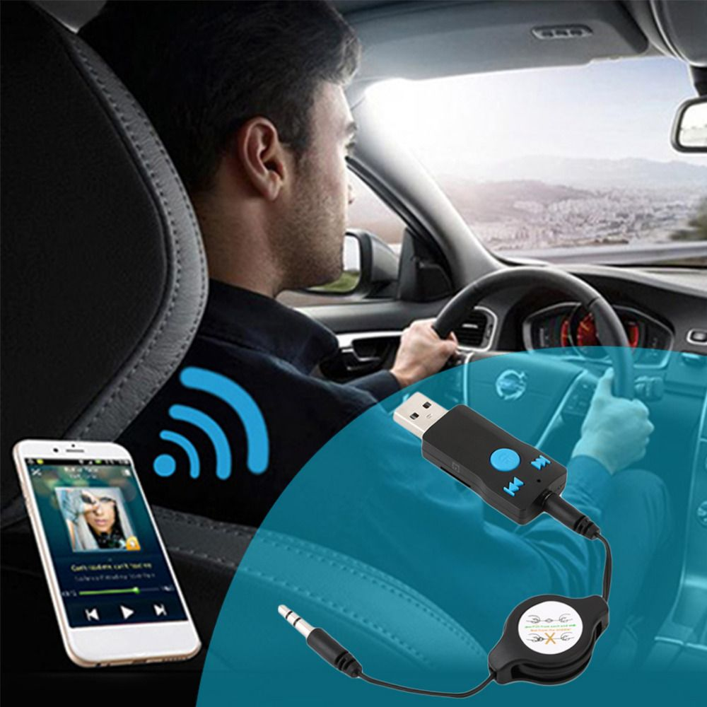 2017 Universal Usb Bluetooth Handsfree Phone Calling Transmitter
