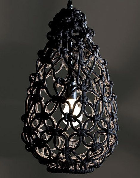 Macrame lighting by Sarah modern lighting ideas