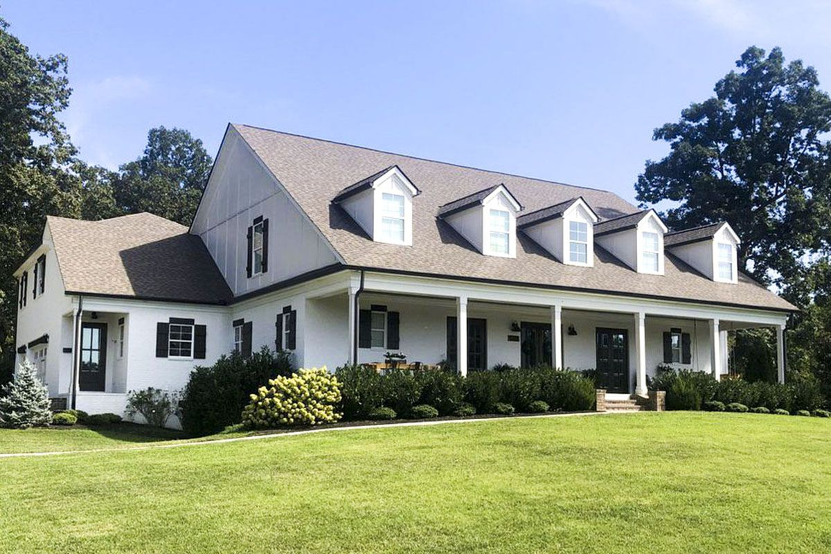 Country Home Plan Master on Main