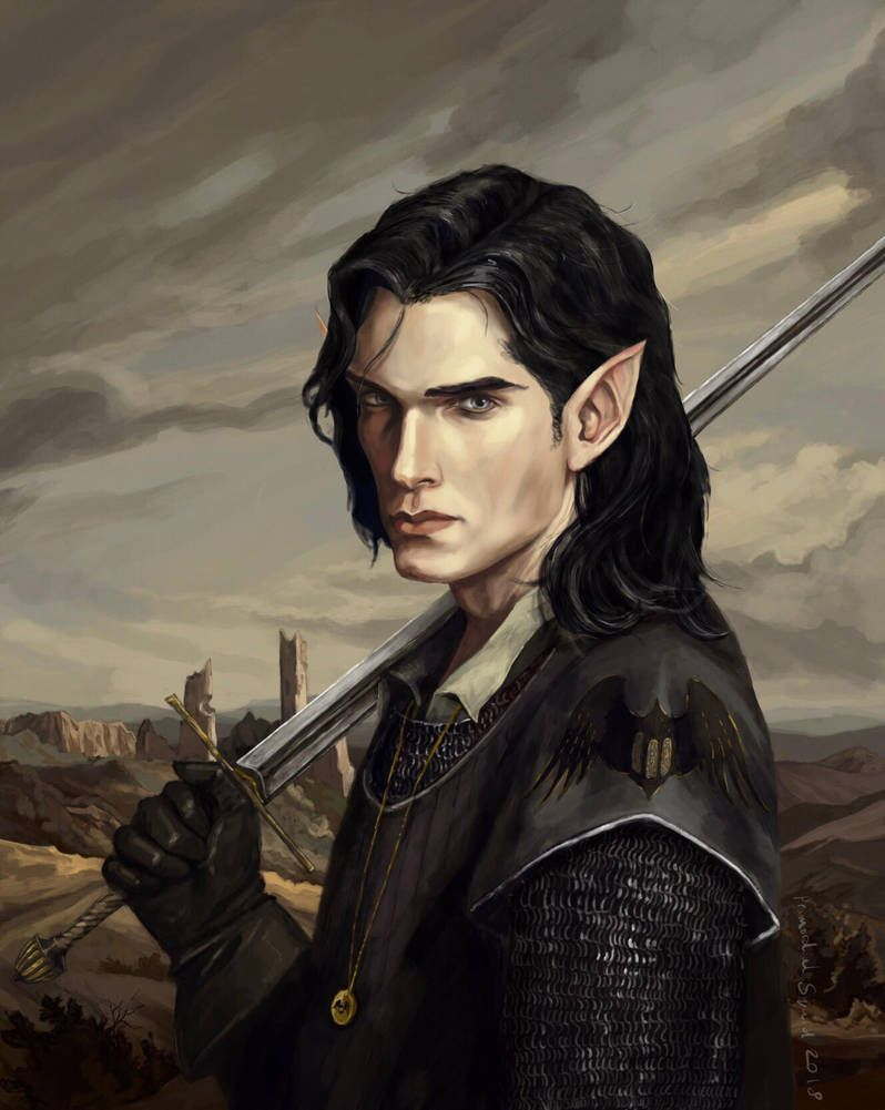 Ivun Paladin Of Ionas Sacrament Commission By Primordialsquid Character Portraits Elf Art Fantasy Character Design