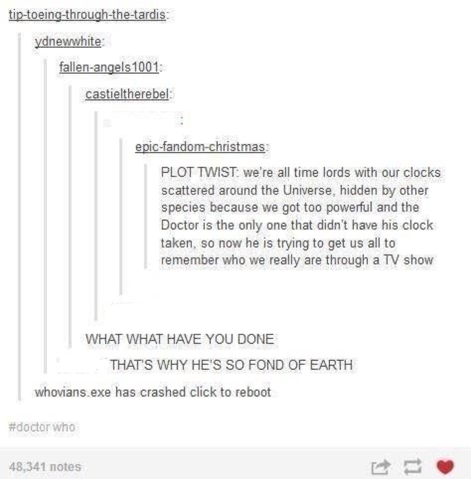 Doctor Who Twist Doctor Who Doctor Superwholock