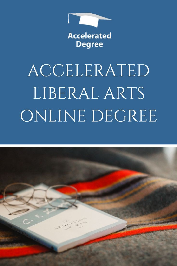 Accelerated liberal arts degree online scholarships for