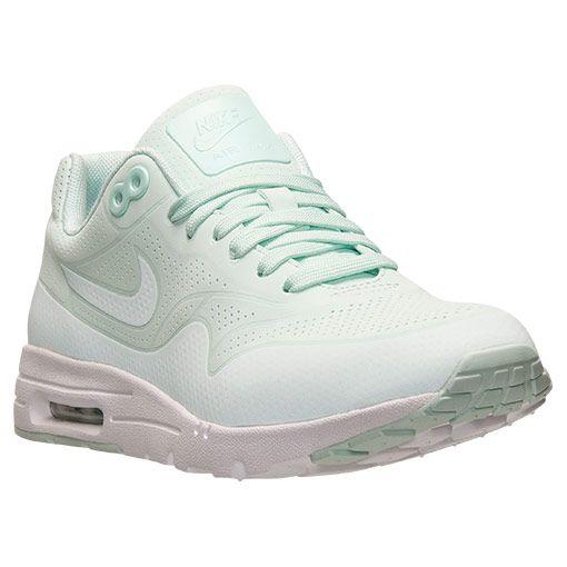 online retailer 832ba 0f737 Women s Nike Air Max 1 Ultra Moire Running Shoes   Finish Line   Fiberglass  White