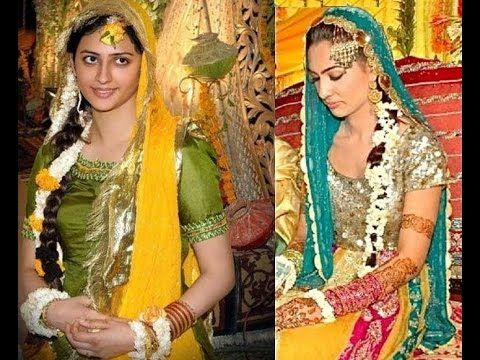 Mehndi dresses 2018 pakistani fashion