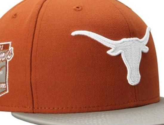 Texas Longhorns Side Filler 59Fifty Fitted Baseball Cap by NEW ERA x NCAA