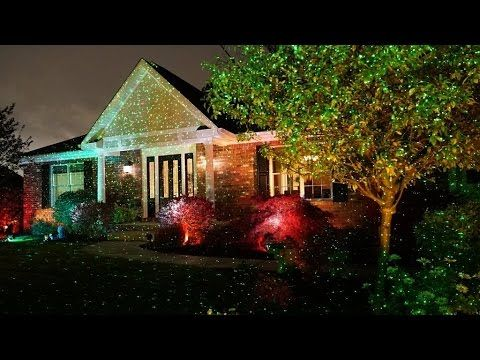 Review Star Shower Outdoor Laser Christmas Lights Star Projector By Bulbhead Christmas Lights Inside Christmas Light Projector Star Shower