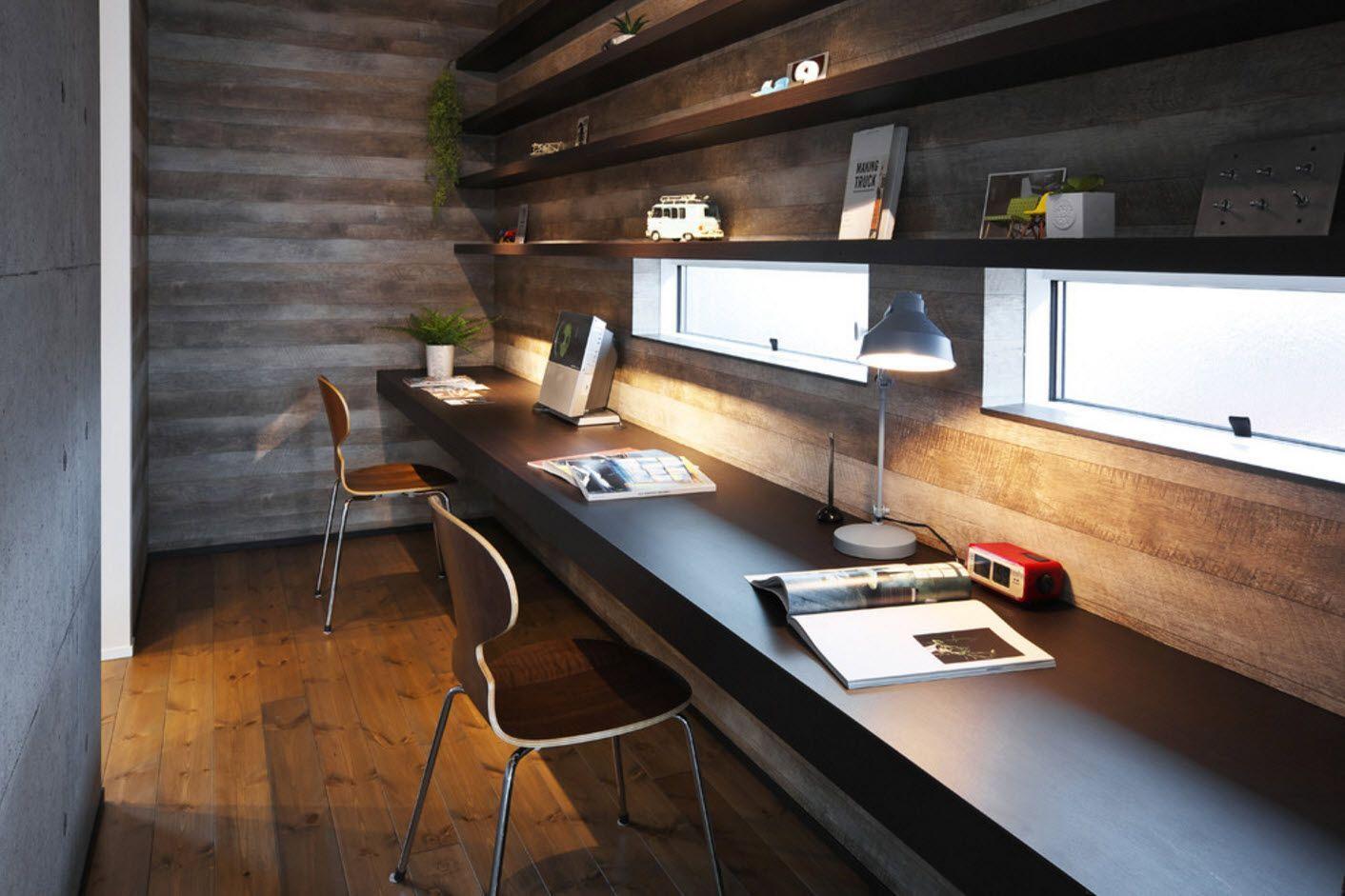 Best Home Office Decor Ideas For Gentlemen Industrial Home