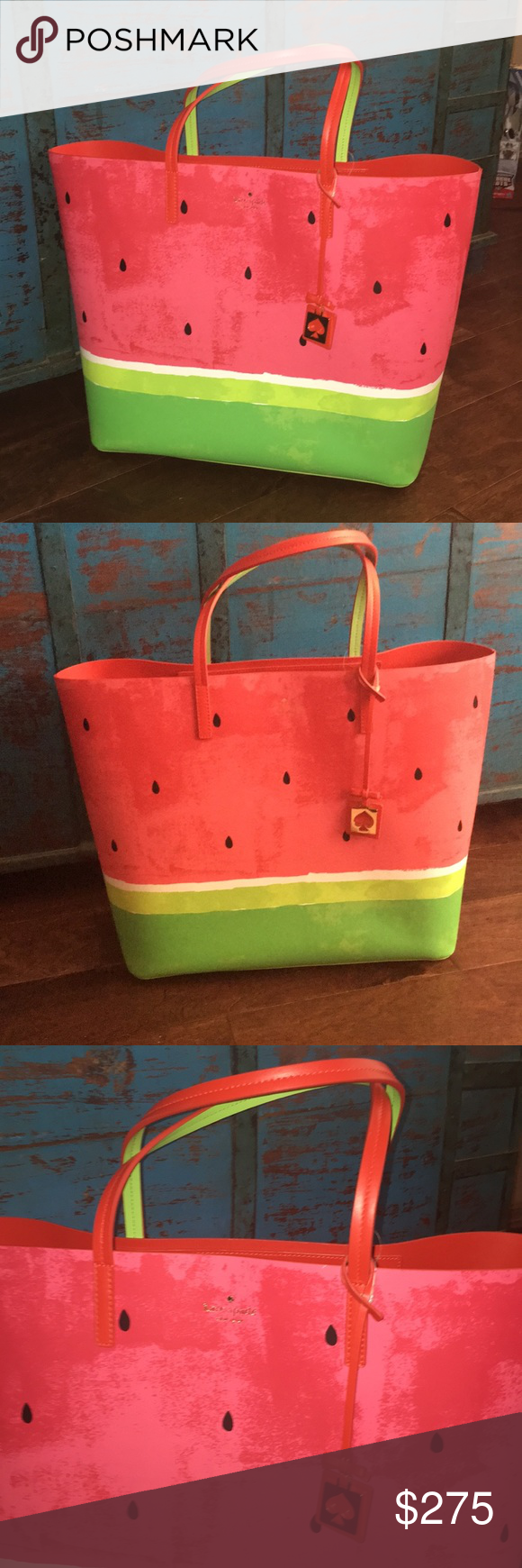 Kate Spade Make A Splash Watermelon Tote Nwt