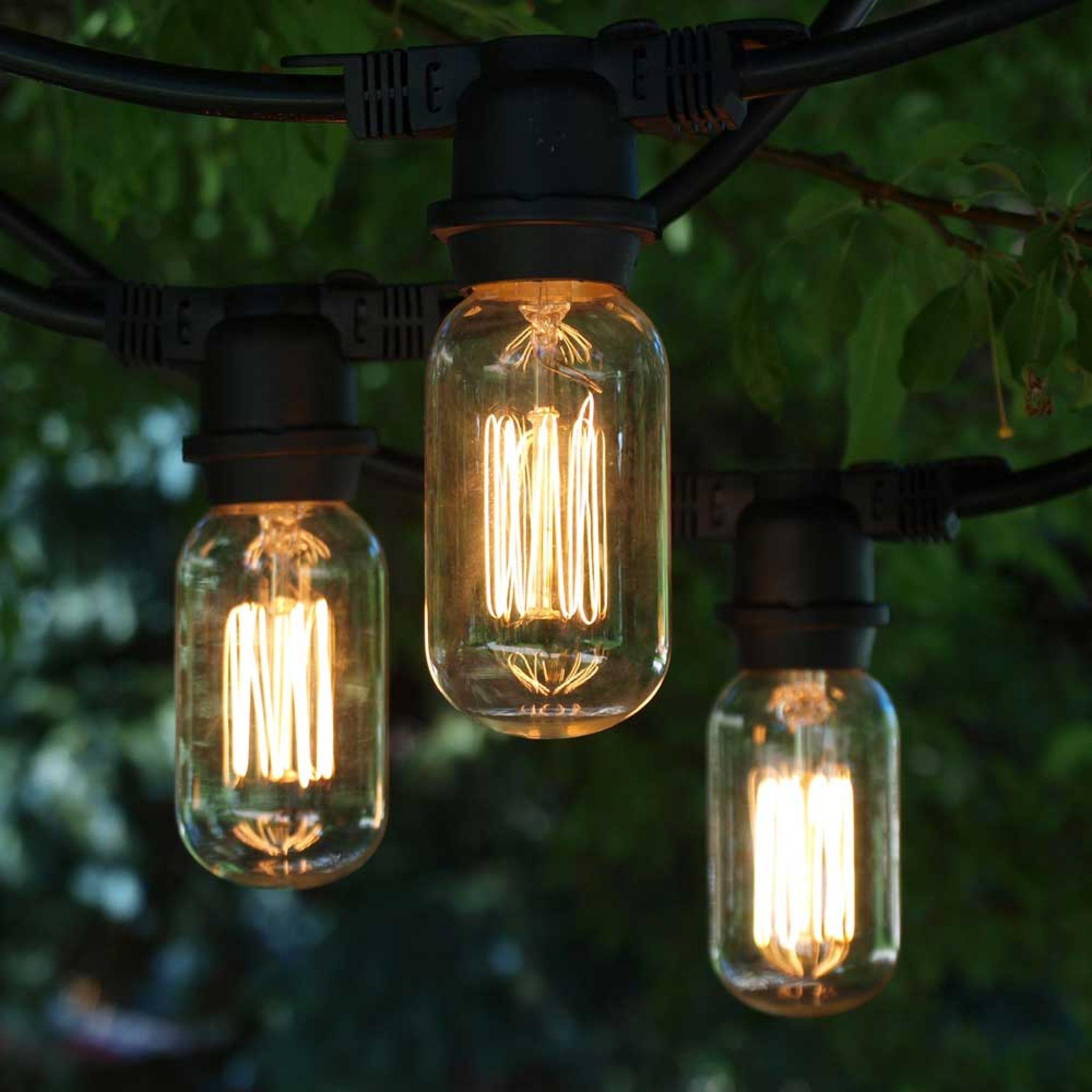 decor lights string of pineapple outdoor set light led
