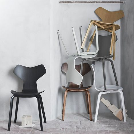 Iconic Arne Jacobsen chair reintroduced with a new twist | NordicDesign