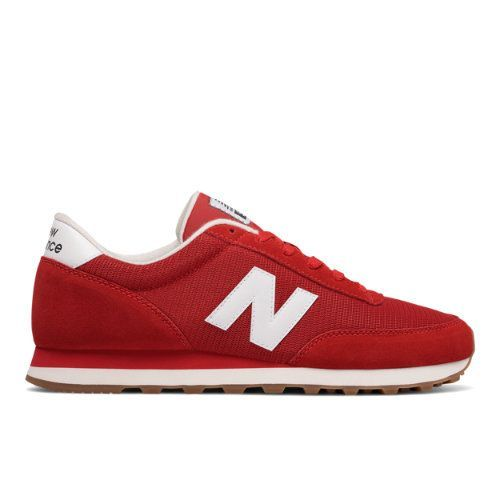 Shoes Outlet - New Balance 501 Running Classics Red White Mens Trainers