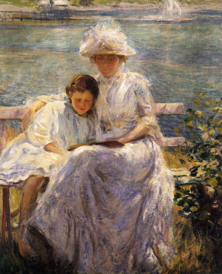 Joseph DeCamp (American 1858–1923), June Sunlight, 1902.