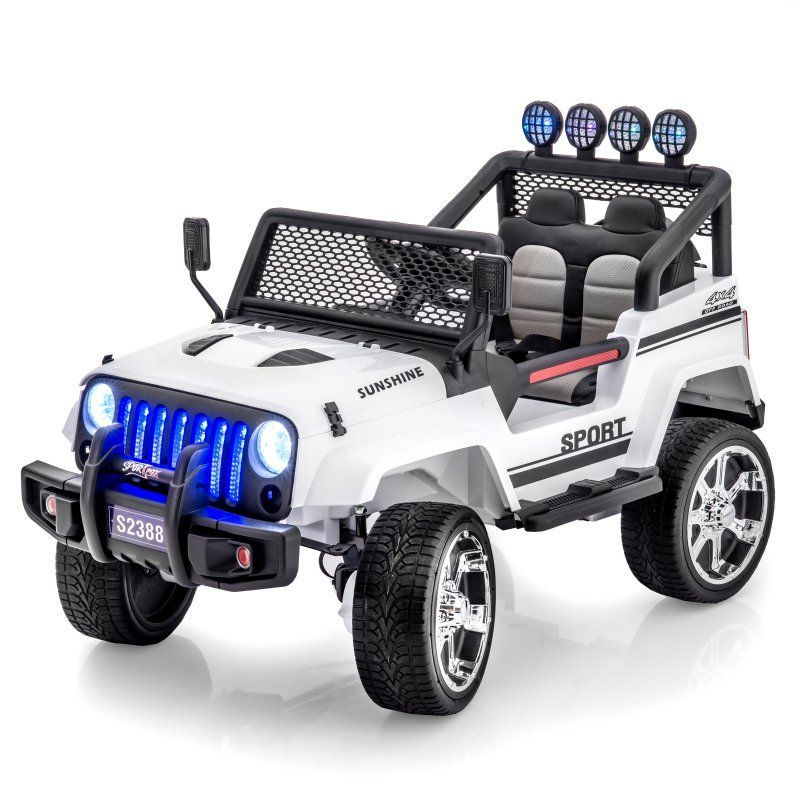 sportrax jeep wrangler style 4wd kids car battery powered riding toyPower Wheels Jeep Wrangler Kids Battery Powered Toy Car 4x4 Red Ebay #16