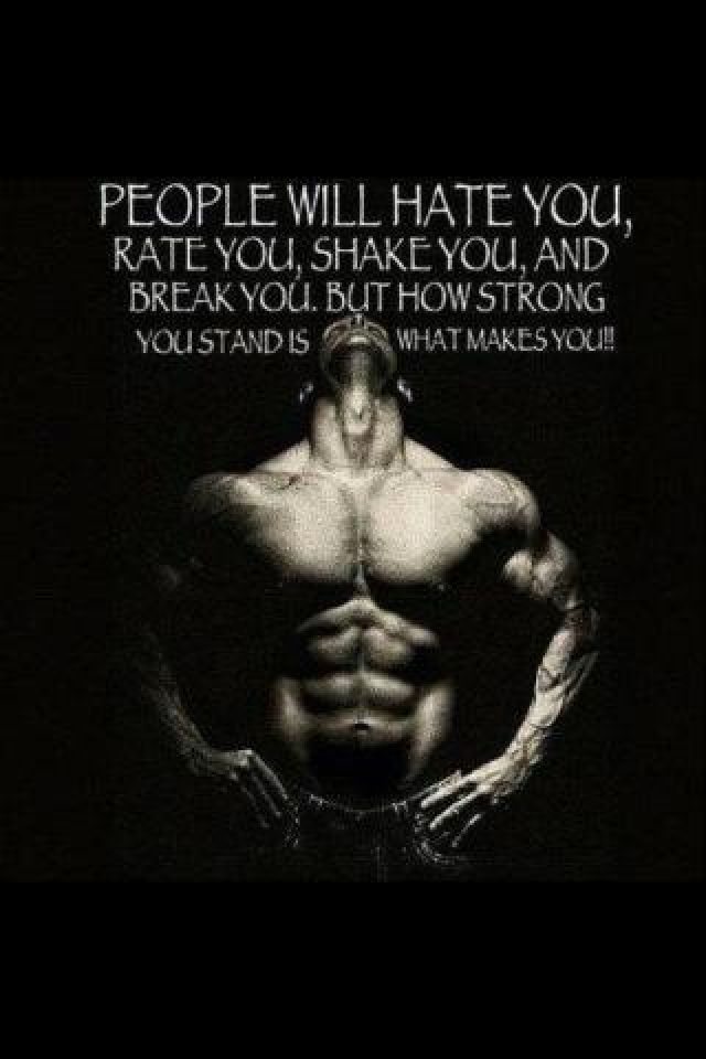 You Cant Break Me I Wont Let You Fitness Bodybuilding