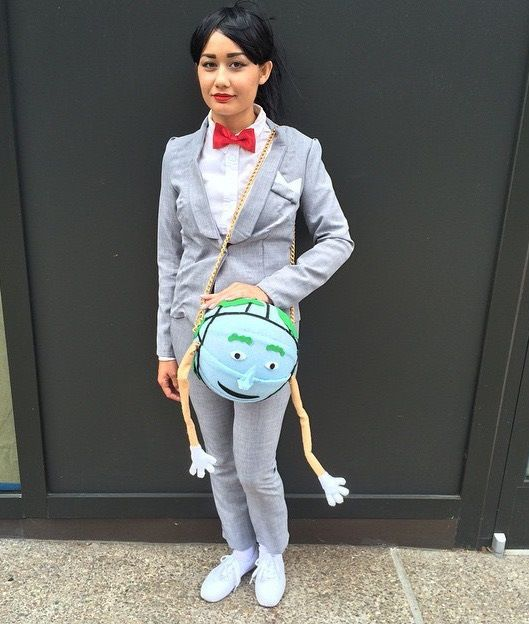 25 Great Homemade Halloween Costumes Based On TV Shows | Pee wee ...