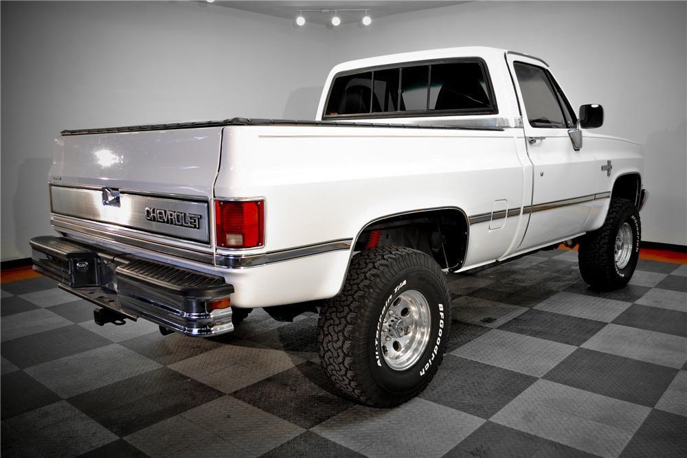 Item Barrett Jackson Auction Company Chevy Pickup Trucks Chevy Trucks Chevrolet Silverado