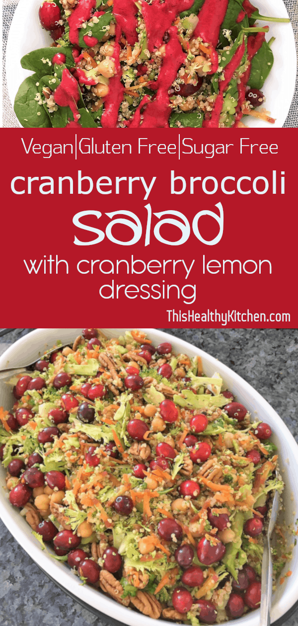 Cranberry is crunchy, sweet, tangy and delicious! Covered in cran dressing for the perfect combinat