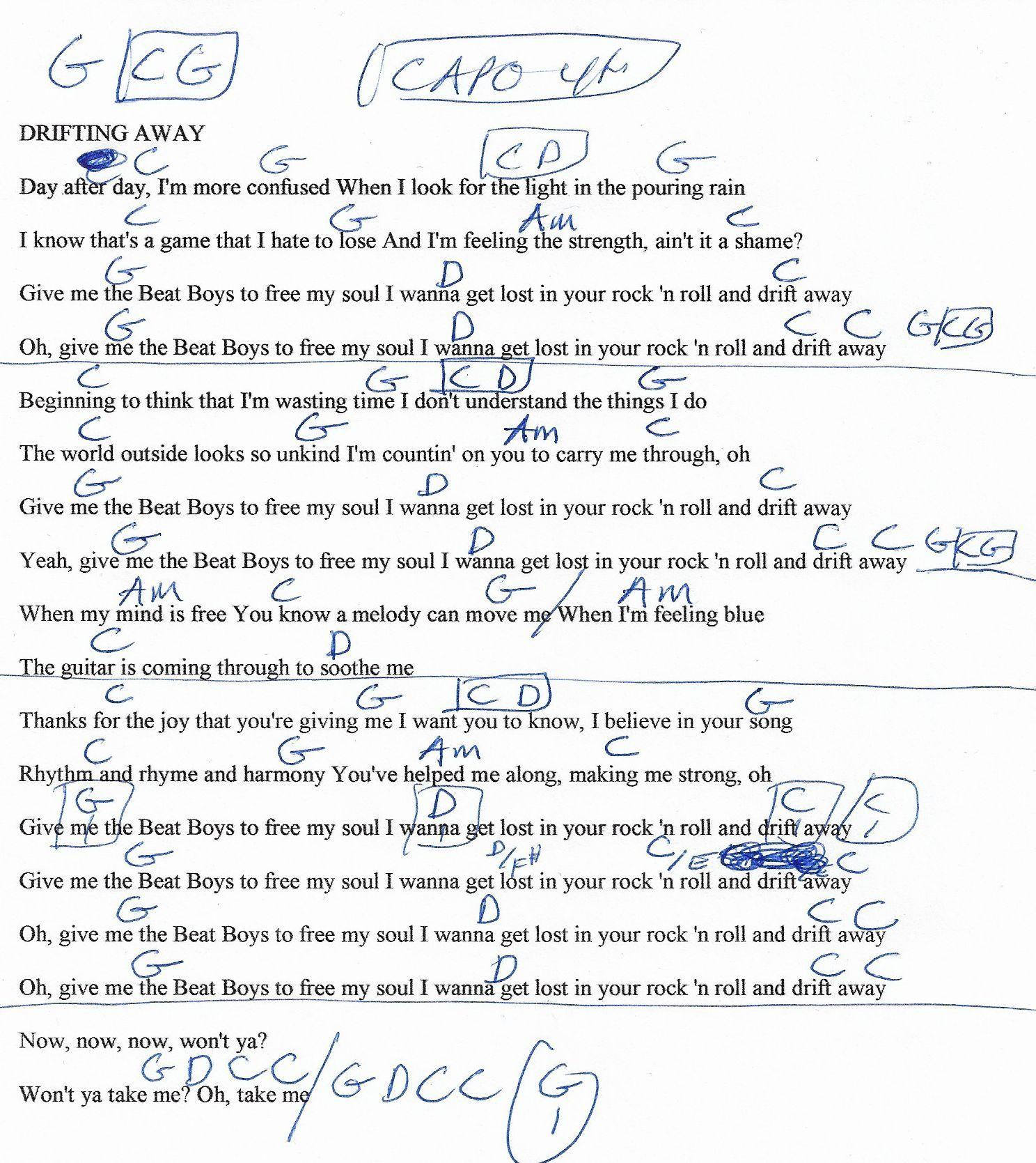 drift away lyrics trifecta betting