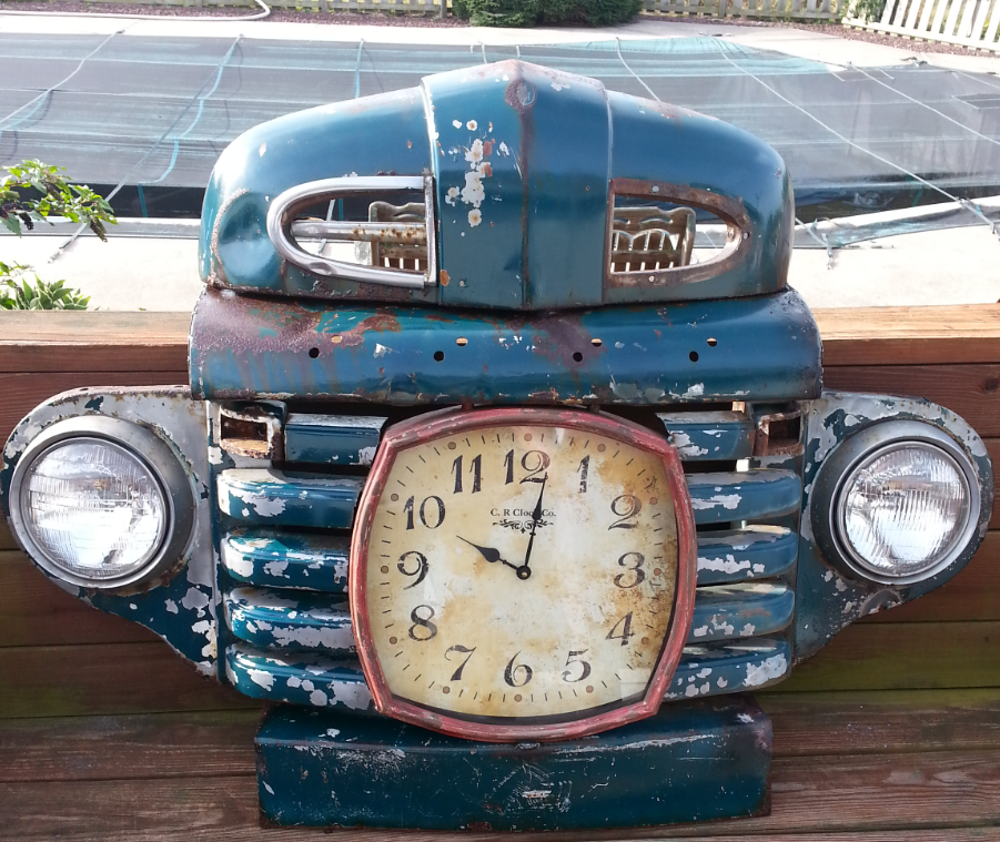 Ford Grill Clock 10 Things Crafts Clock