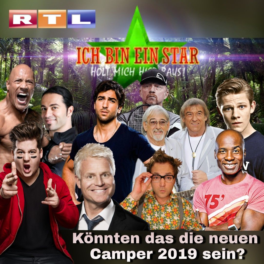 Wer Soll Ins Rtl Dschungelcamp 2019 Ich Bin Ein Star Holt Mich