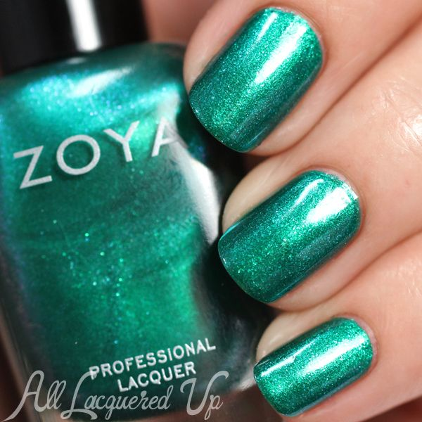 Brand: Zoya // Collection: Paradise Sun (Summer 2015) // Color: Selene // Blog: All Lacquered Up
