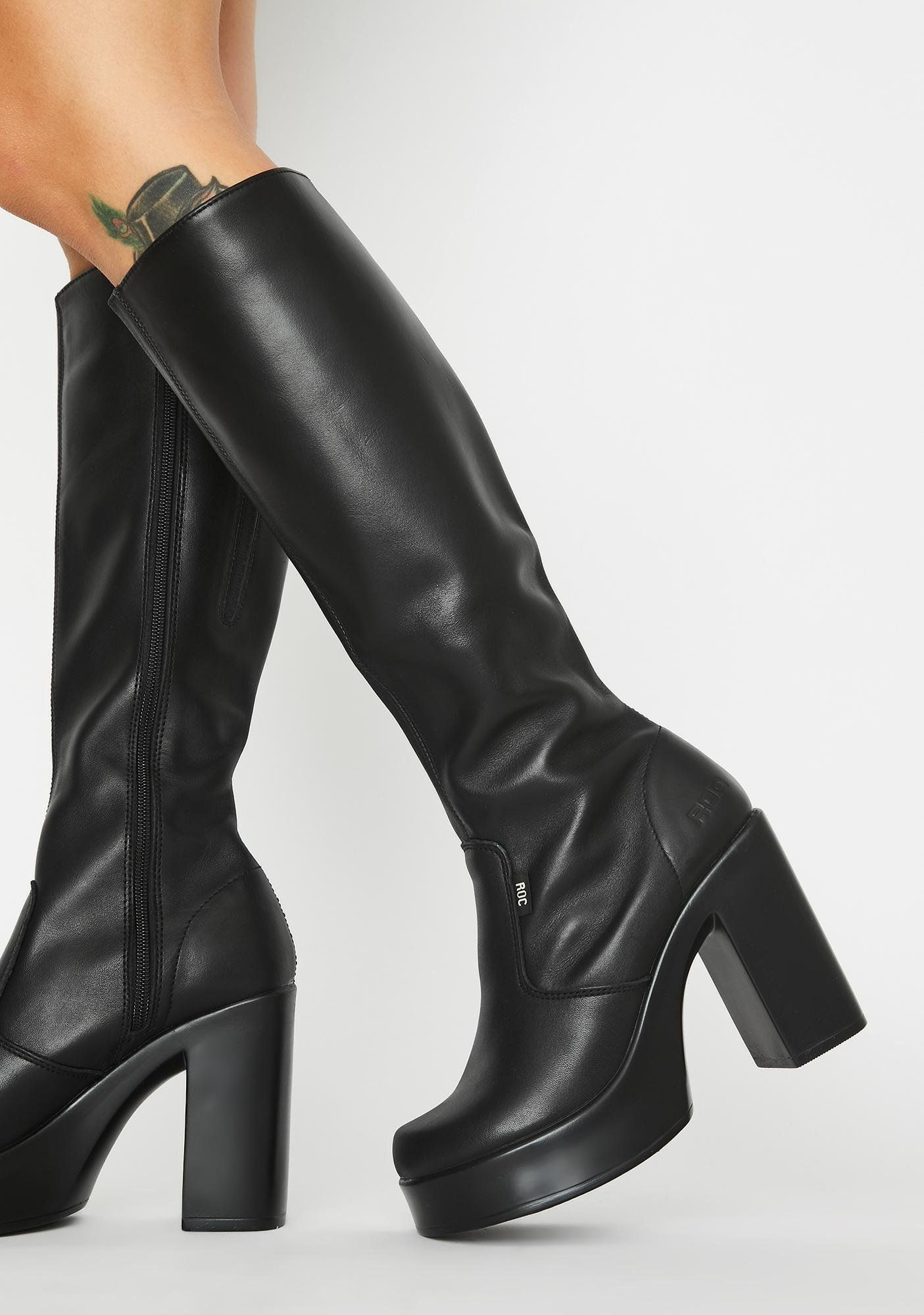 Nebraska Knee High Boots in 2020