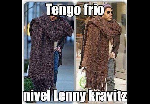 Instagram Photo By Cabronazi Nov 24 2015 At 11 21am Utc Lenny Kravitz Memes De Frio Humor En Espanol