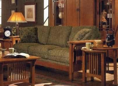 Mission Oak Living Room Design | ... Oak Living Room Set, U0027American