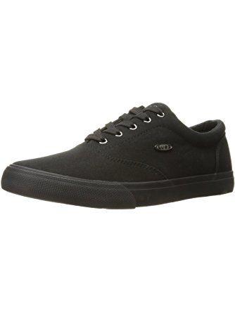 Mens Seabrook Fashion Sneaker, Black, 8.5 D US Lugz