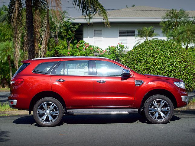 Review Ford Everest 4x4 3 2l Titanium At Ford Suv Ford 4x4