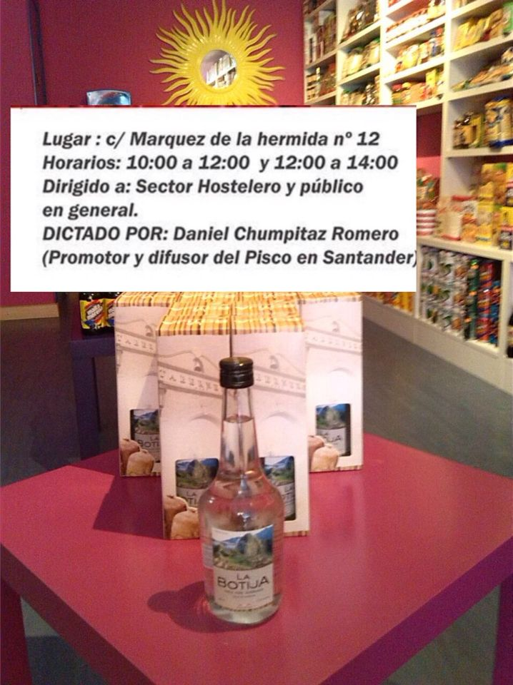 Ya Tenemos Preparados Los Piscos Para Los Asistentes Al I Curso De Coctelería Peruana En Cantabria Aún Estás A Tiempo De Inscribir Pisco La Hermida Cocteleria