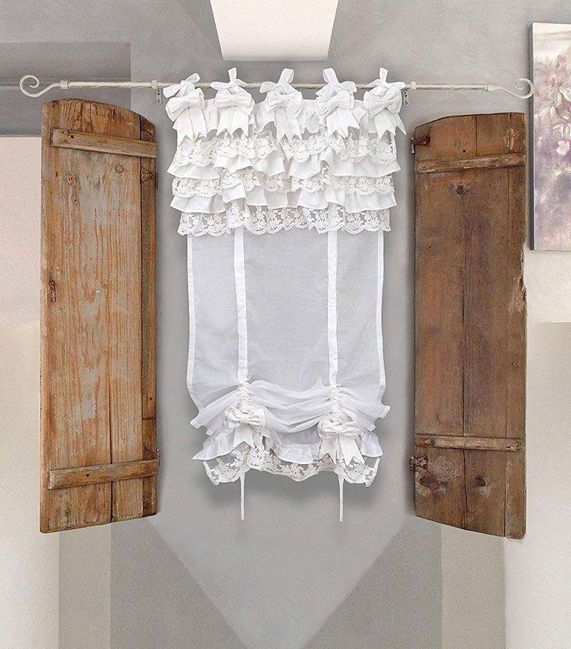 Le Piu Belle Tende Shabby Chic Per La Tua Casa 40 Ispirazioni Da Copiare In 2020 Shabby Chic Curtains Shabby Decor Diy Living Room Decor #shabby #chic #curtains #for #living #room