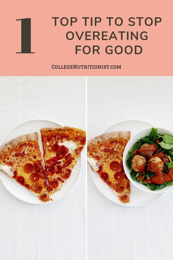 How to stop overeating for good food healthy eat