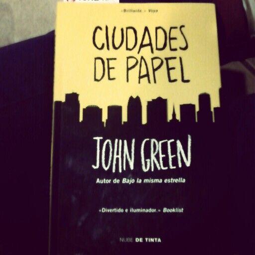 #CiudadeaDePapel #JohnGreen